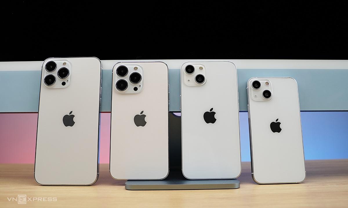 Siêu phẩm 2021 của nhà Táo iPhone 13