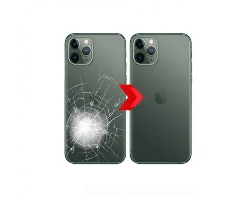THAY MẶT KÍNH LƯNG iPHONE 11 - 11 PRO - 11 PROMAX